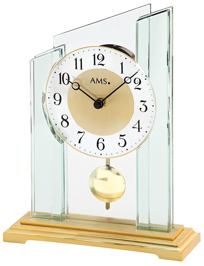 pendule poser moderne balancier en verre pendule poser 1001 pendules