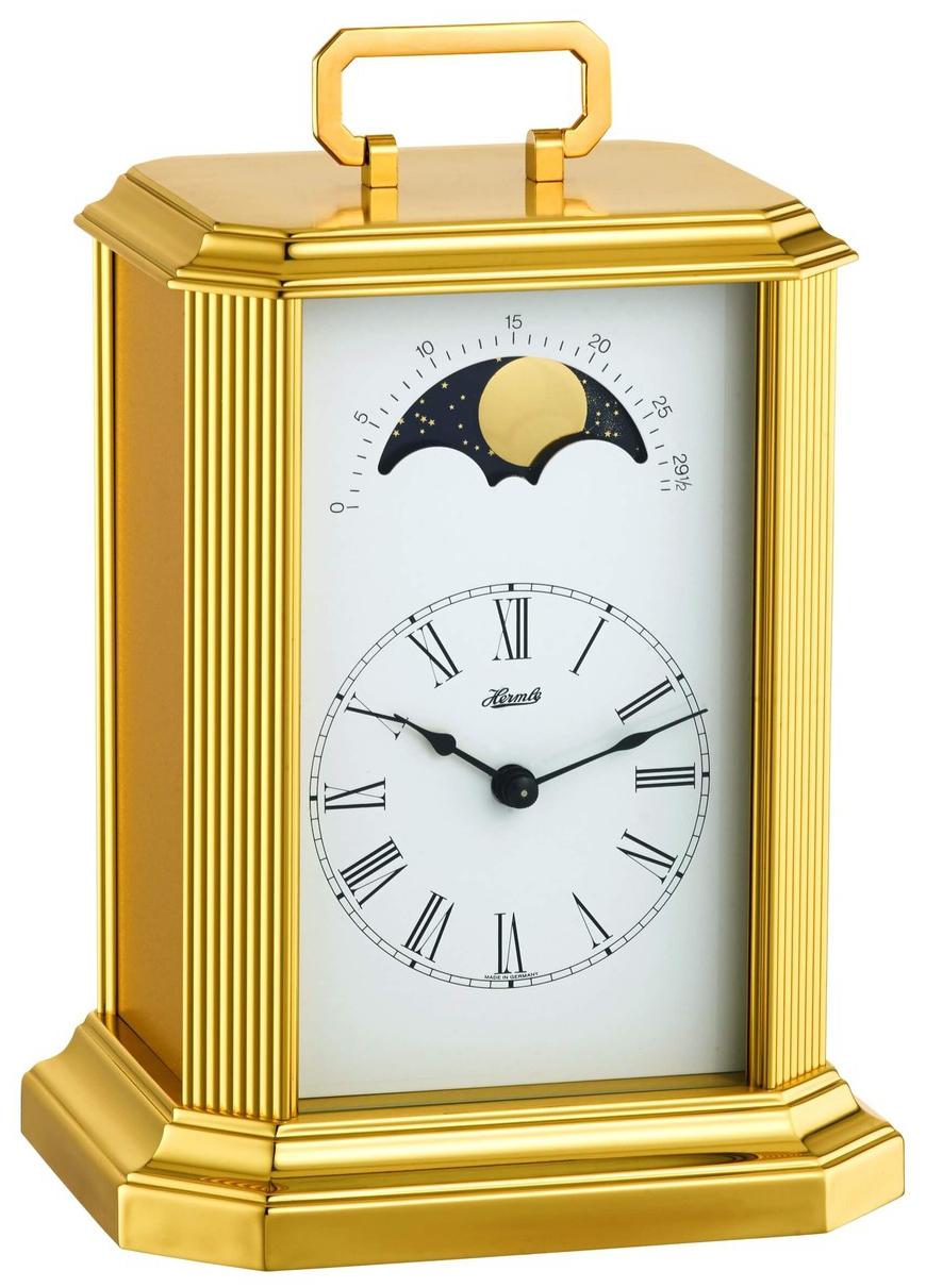 pendulette poser m canique phase de lune pendule poser 1001 pendules. Black Bedroom Furniture Sets. Home Design Ideas