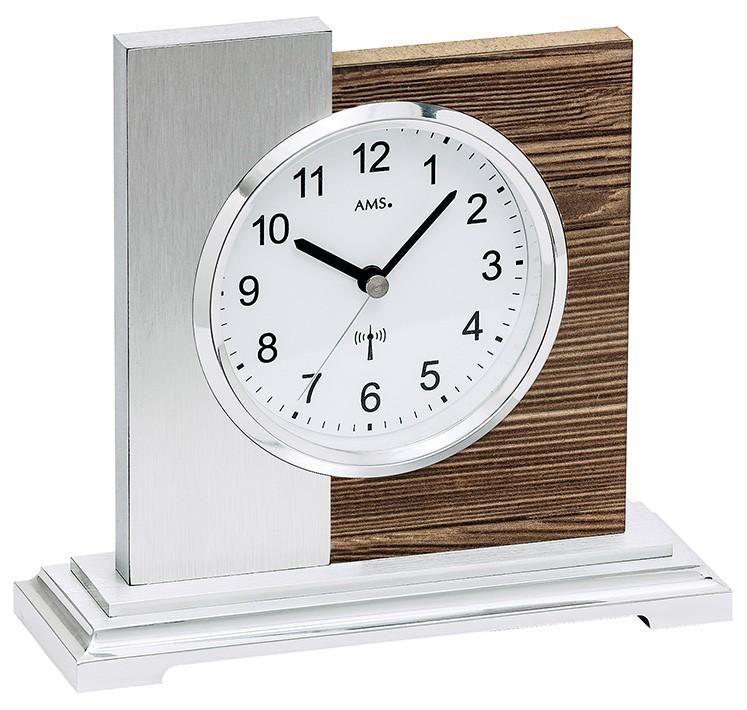 pendule poser design en bois et aluminium pendule