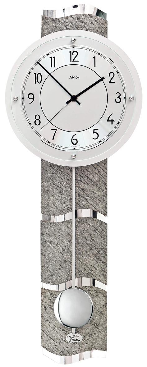horloge murale balancier galb e radio pilot e. Black Bedroom Furniture Sets. Home Design Ideas