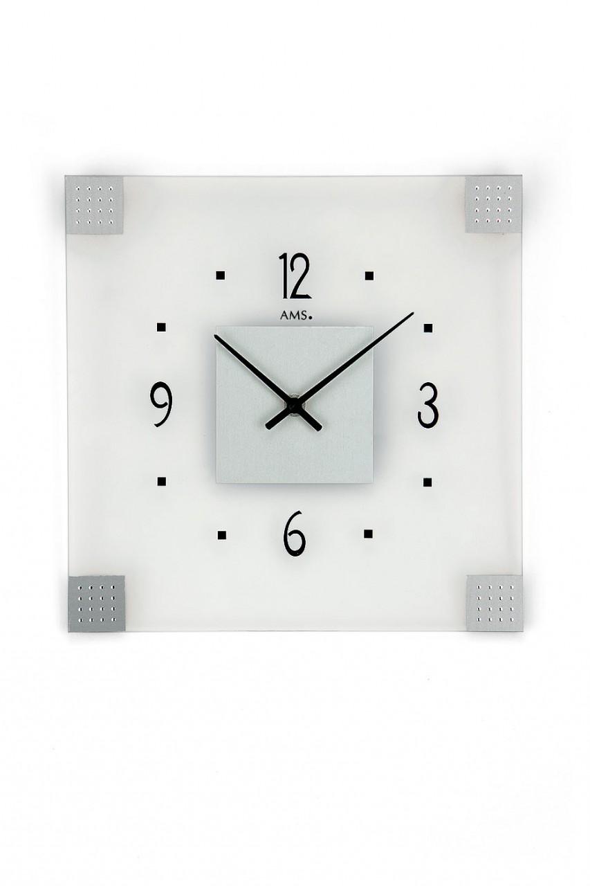 pendule murale moderne verre carry 1001 pendules. Black Bedroom Furniture Sets. Home Design Ideas