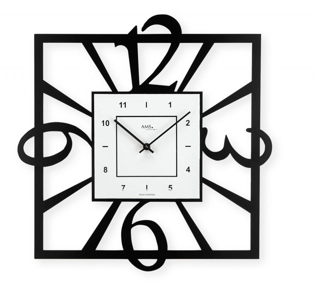 pendule murale moderne 1001 pendules. Black Bedroom Furniture Sets. Home Design Ideas