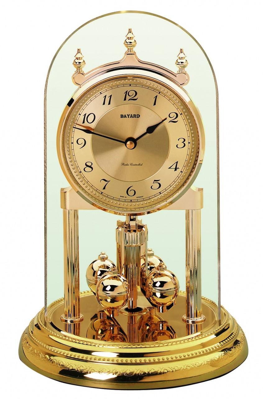 pendule 400 jours quartz bayard dor e pendule poser. Black Bedroom Furniture Sets. Home Design Ideas