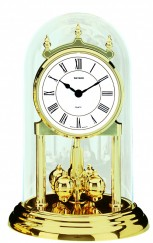 pendule 400 jours quartz bayard cadran blanc