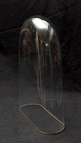 globe en verre ovale 32cm de largeur et 17cm de profondeur. Black Bedroom Furniture Sets. Home Design Ideas