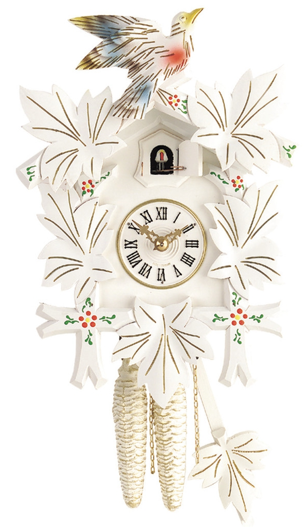 Horloge pendule coucou en bois