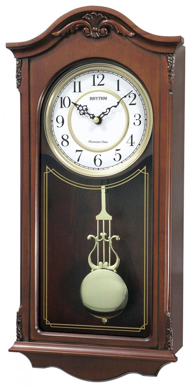 carillon quartz sonnerie westminster balancier lyre. Black Bedroom Furniture Sets. Home Design Ideas