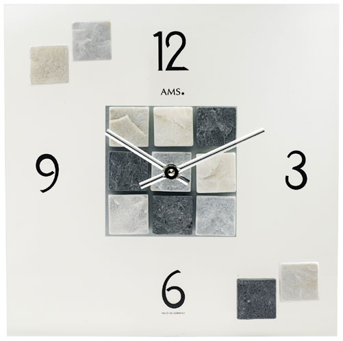 Pendule moderne murale quartz s lection produit for Grande horloge murale moderne
