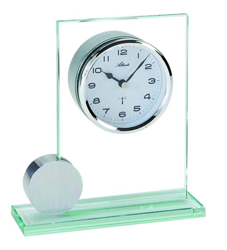 Pendule poser radio pilot e 1001 pendules - Horloge a poser design ...