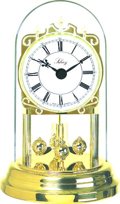 pendule 400 jours petit mod le cadran blanc chiffres romains pendule poser 1001 pendules. Black Bedroom Furniture Sets. Home Design Ideas